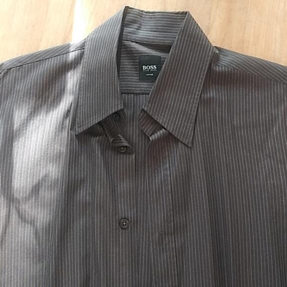 08b6c8e5c22 M 5b9ef3f2c9bf5056e4aae0cc · Hugo Boss BOSS Jesse Slim Fit Easy Iron Check Dress  Shirt